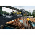 Crane Static Mounted Cranab Timber 2