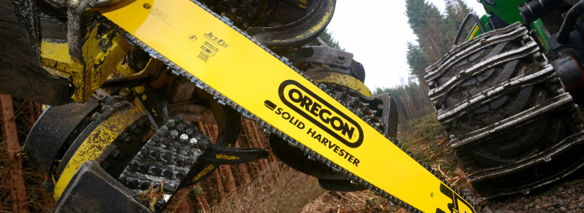 Oregon Harvester Bar Chain Maintenance